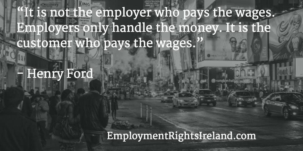 minimum wage rates | Employment Rights Ireland
