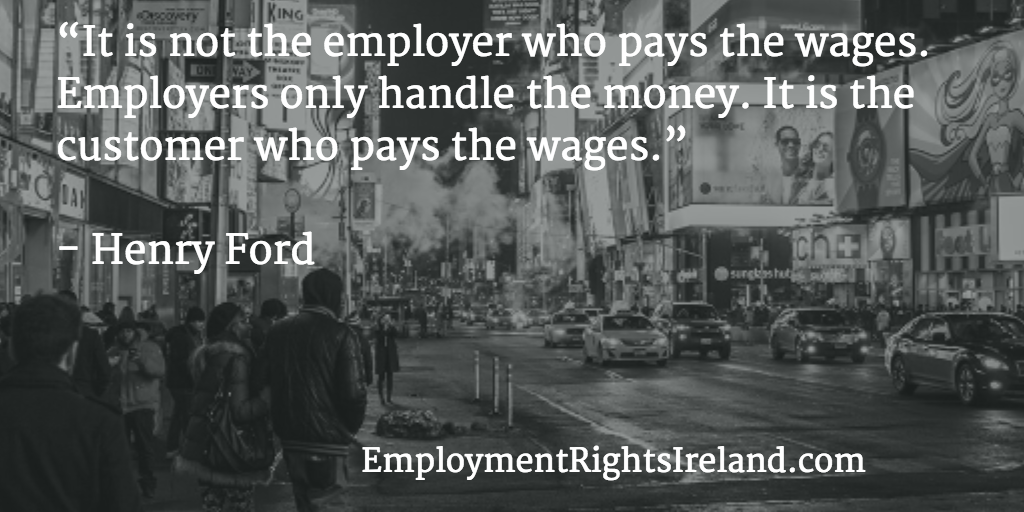 Minimum Wage Rates Employment Rights Ireland