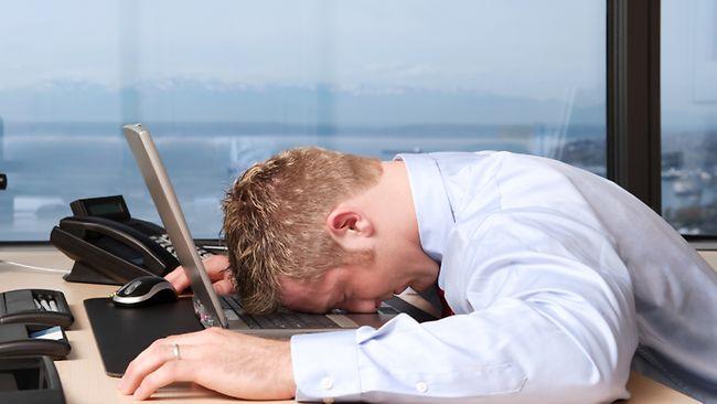 stressed employee